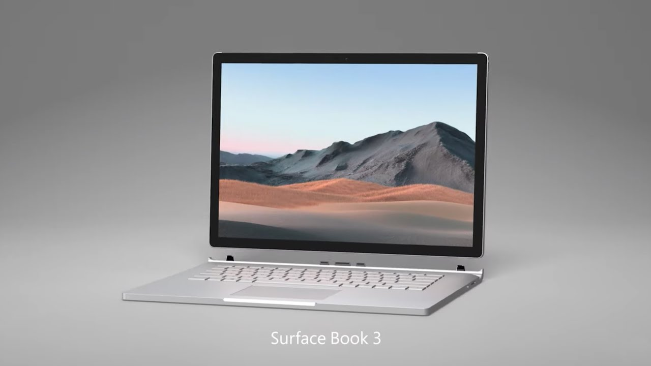 Surface Book 3 is introduced! Here are the features and price