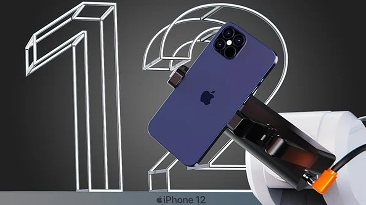 Possible iPhone 12 design appeared Here is the safe